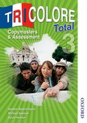 Cover for Tricolore Total 3 Copymasters and Assessment