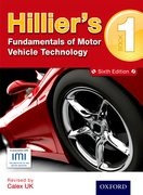Cover for Hilliers Fundamentals of Motor Vehicle Technology 5th Edition Book 1