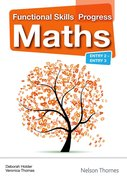 Cover for Functional Skills Progress Maths Entry 2 - Entry 3 CDROM