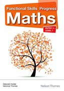 Cover for Functional Skills Progress Maths Entry 3 - Level 1 CDROM