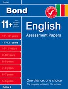 Cover for Bond English Assessment Papers 11+-12+ years Book 2