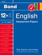 Cover for Bond English Assessment Papers 12+-13+ Years