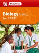 Cover for Biology for CAPE Unit 2 CXCA Caribbean Examinations Council Study Guide