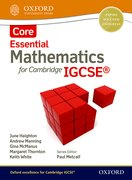 Cover for Mathematics for Cambridge IGCSE Core