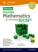 Cover for Mathematics for Cambridge IGCSE Extended