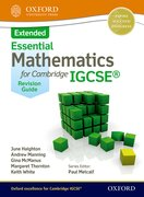 Cover for Mathematics for (Cambridge) IGCSE Extended Revision Guide
