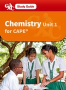 Cover for Chemistry CAPE Unit 1 A Caribbean Examinations Study Guide