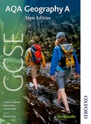 Cover for AQA GCSE Geography A New Edition