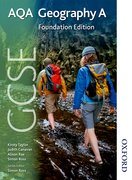 Cover for GCSE AQA Geography A Foundation Edition