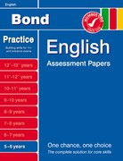 Cover for Bond English Assessment Papers 5-6 Years