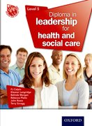 Cover for Diploma in Leadership for Health and Social Care Level 5