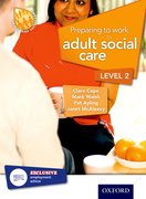 Cover for Preparing to Work in Adult Social Care Level 2