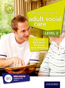 Cover for Preparing to Work in Adult Social Care Level 3