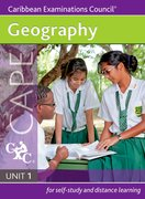 Cover for Geography CAPE Unit 1 A Caribbean Examinations Council Study Guide