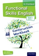 Cover for Functional Skills English In Context Construction Workbook Entry3 - Level 2