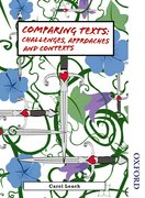 Cover for Comparing Texts: Approaches, Challenges and Contexts
