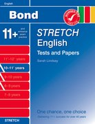 Cover for Bond Stretch English Tests and Papers 10-11+ years