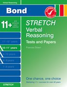 Cover for Bond Stretch Verbal Reasoning Tests and Papers 10-11+ years