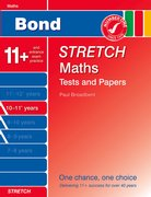 Cover for Bond Stretch Maths Tests and Papers 10-11+ years