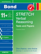 Cover for Bond Stretch Verbal Reasoning Tests and Papers 8-9 years