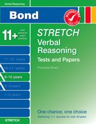 Cover for Bond Stretch Verbal Reasoning Tests and Papers 9-10 years