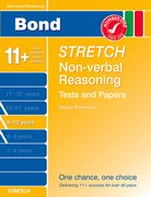 Cover for Bond Stretch Non-Verbal Reasoning Tests and Papers 9-10 years