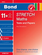 Cover for Bond Stretch Maths Tests and Papers 8-9 years