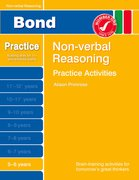 Cover for Bond Practice Non-verbal Reasoning Practice Activities 5-6 years