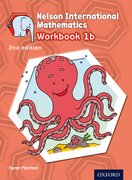 Cover for Nelson International Mathematics 2nd edition Workbook 1b