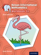 Cover for Nelson International Mathematics 2nd edition Workbook 1c