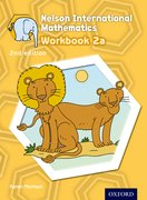 Cover for Nelson International Mathematics 2nd edition Workbook 2a