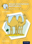 Cover for Nelson International Mathematics 2nd edition Workbook 2c