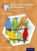 Cover for Nelson International Mathematics 2nd edition Workbook 6