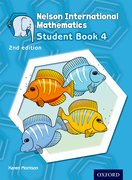 Cover for Nelson International Mathematics 2nd edition Student Book 4