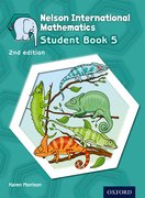 Cover for Nelson International Mathematics 2nd edition Student Book 5