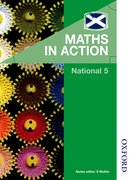 Cover for Maths in Action National 5