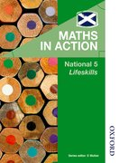 Cover for Maths in Action National 5 Lifeskills