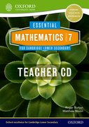 Cover for Essential Mathematics for Cambridge Secondary 1 Stage 7 Teacher CD-ROM