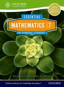 Cover for Essential Mathematics for Cambridge Secondary 1 Stage 7 Pupil Book