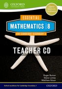 Cover for Essential Mathematics for Cambridge Secondary 1 Stage 8 Teacher CD-ROM