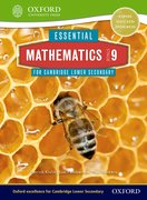 Cover for Essential Mathematics for Cambridge Secondary 1 Stage 9 Pupil Book