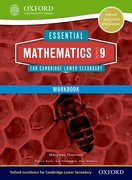 Cover for Essential Mathematics for Cambridge Secondary 1 Stage 9 Work Book