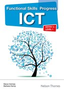 Cover for Functional Skills Progress ICT Entry 3 - Level 1 CD-Rom