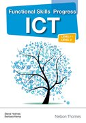 Cover for Functional Skills Progress ICT Level 1 - Level 2 CD-Rom