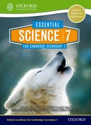 Cover for Essential Science for Cambridge Secondary 1 Stage 7
