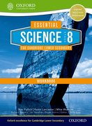 Cover for Essential Science for Cambridge Secondary 1- Stage 8 Workbook