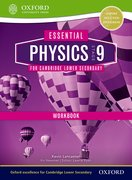 Cover for Essential Physics for Cambridge Secondary 1 Stage 9 Workbook