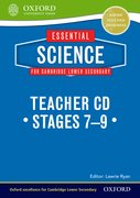 Cover for Essential Science for Cambridge Secondary 1 Teacher