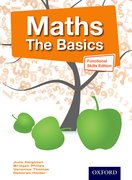 Cover for Maths The Basics Functional Skills Edition