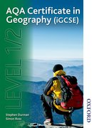 Cover for AQA Certificate in Geography (iGCSE) Level 1/2